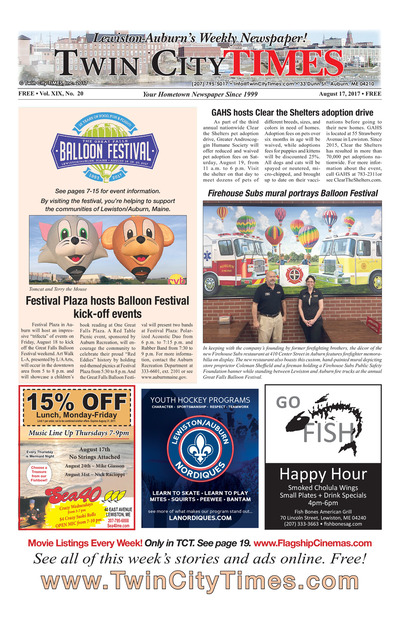 Twin City Times - Aug 17, 2017