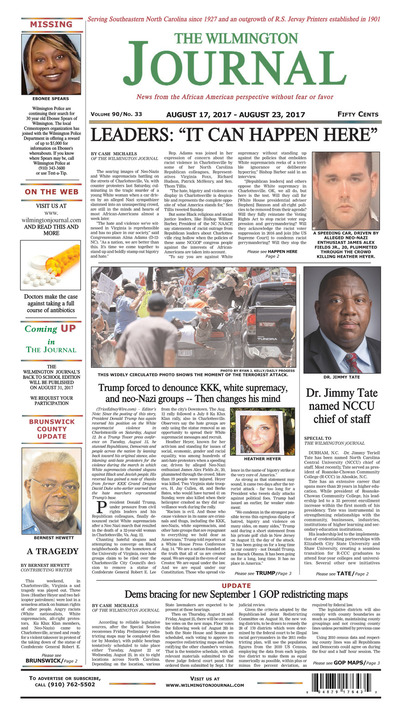 Wilmington Journal - Aug 17, 2017