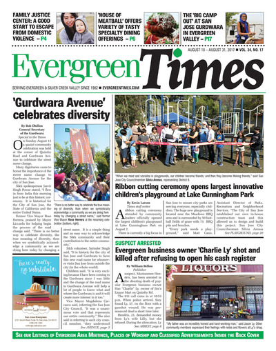 Evergreen Times - Aug 18, 2017