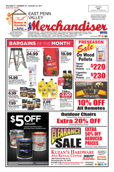 East Penn Valley Merchandiser - Aug 23, 2017