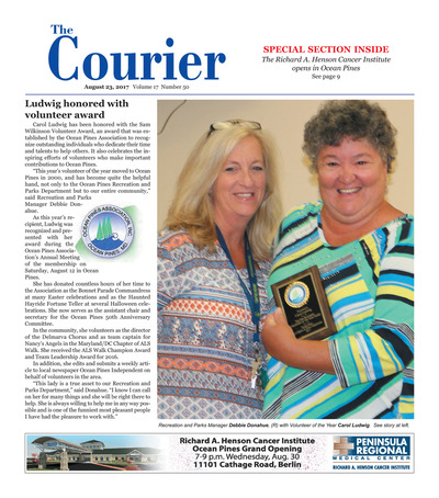 Delmarva Courier - Aug 23, 2017