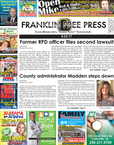 Franklin Free Press - Aug 23, 2017