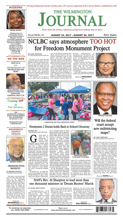 Wilmington Journal - Aug 24, 2017