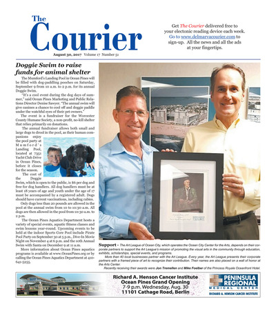 Delmarva Courier - Aug 30, 2017