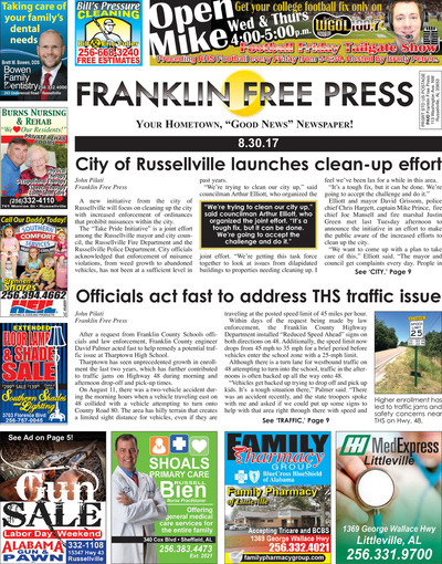 Franklin Free Press - Aug 30, 2017