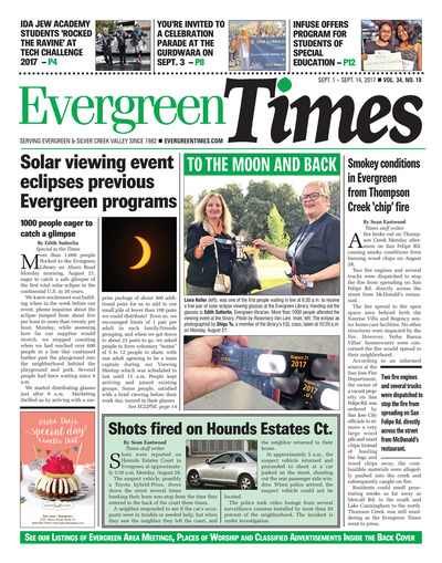 Evergreen Times - Sep 1, 2017