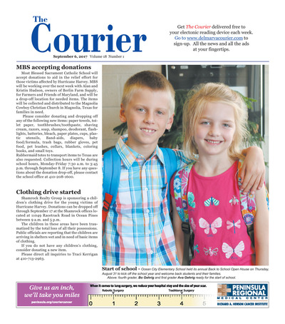 Delmarva Courier - Sep 6, 2017