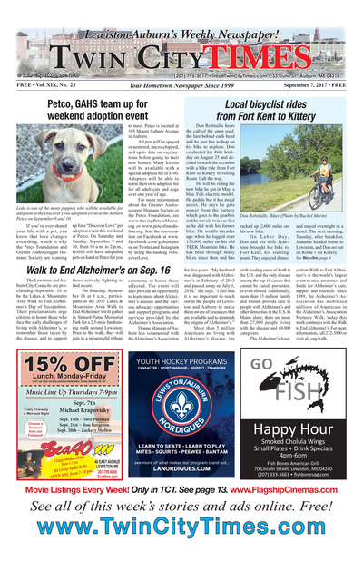 Twin City Times - Sep 7, 2017