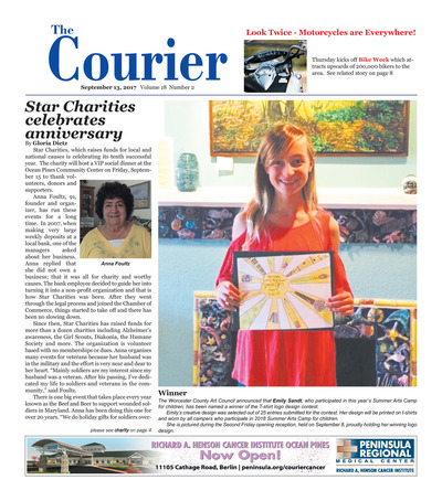 Delmarva Courier - Sep 13, 2017