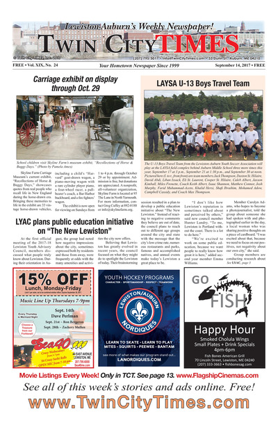 Twin City Times - Sep 14, 2017