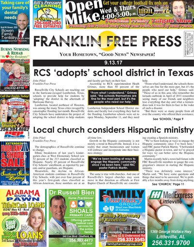 Franklin Free Press - Sep 13, 2017