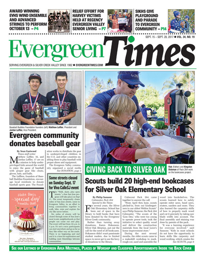 Evergreen Times - Sep 15, 2017
