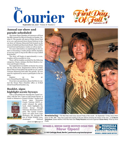 Delmarva Courier - Sep 20, 2017