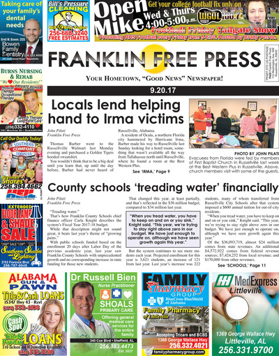 Franklin Free Press - Sep 20, 2017