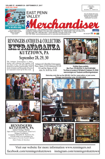 East Penn Valley Merchandiser - Sep 27, 2017