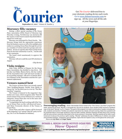 Delmarva Courier - Sep 27, 2017