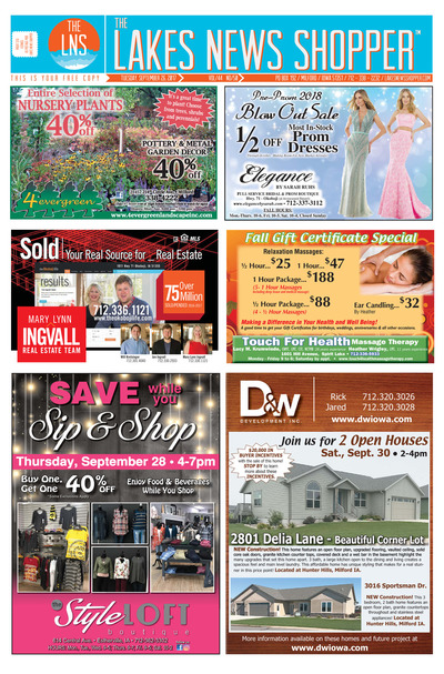 Lakes News Shopper - Sep 26, 2017