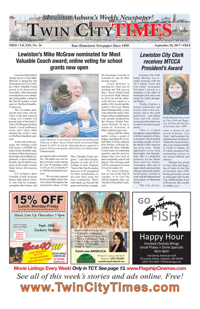Twin City Times - Sep 28, 2017