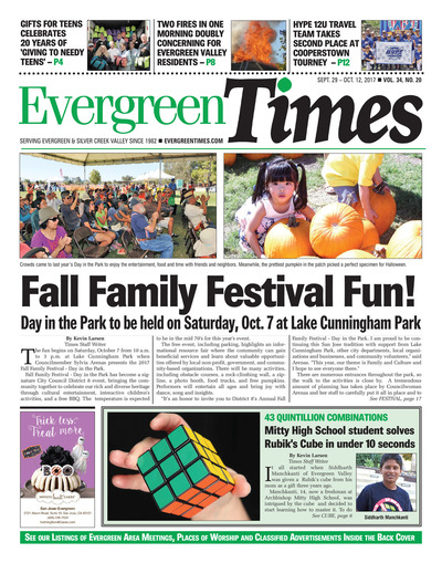 Evergreen Times - Sep 29, 2017