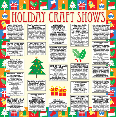 News-Herald - Special Sections - Holiday Craft Shows