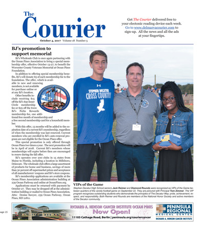 Delmarva Courier - Oct 4, 2017