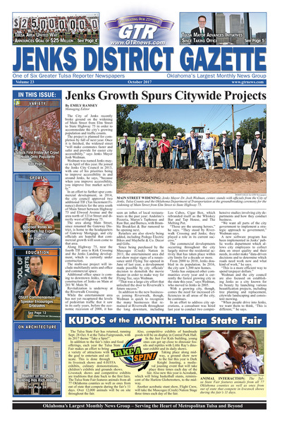 Jenks District Gazette - October 2017