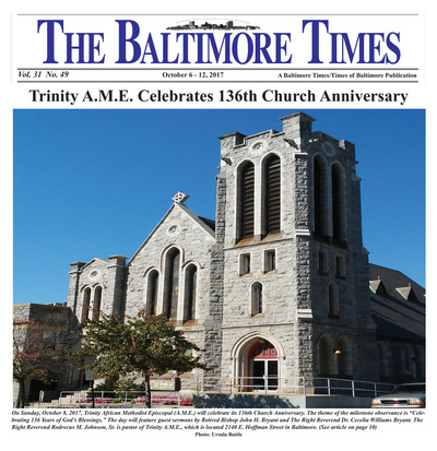 Baltimore Times - Oct 6, 2017