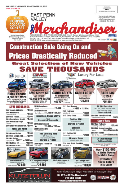 East Penn Valley Merchandiser - Oct 11, 2017