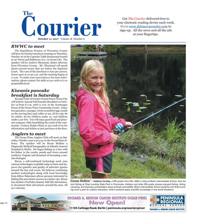 Delmarva Courier - Oct 11, 2017