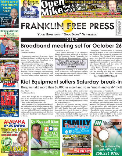 Franklin Free Press - Oct 11, 2017