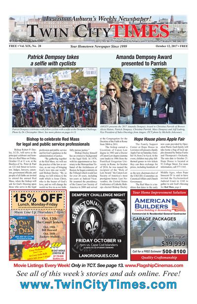 Twin City Times - Oct 12, 2017