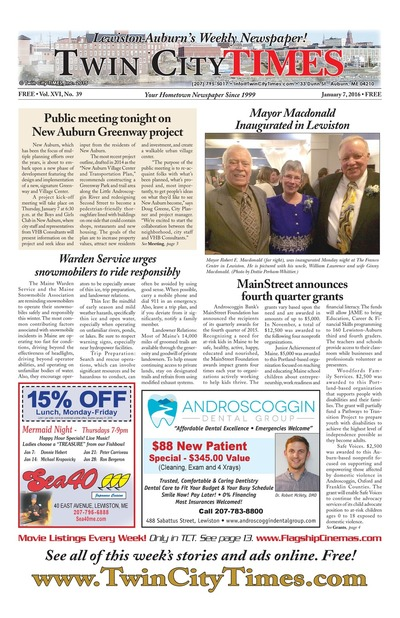 Twin City Times - Jan 7, 2016