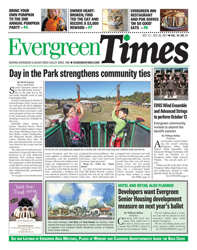 Evergreen Times - Oct 13, 2017