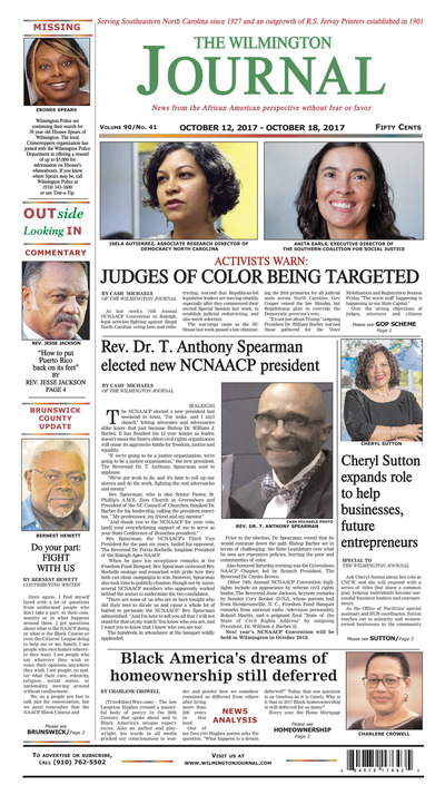 Wilmington Journal - Oct 12, 2017