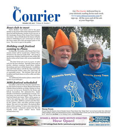 Delmarva Courier - Oct 18, 2017