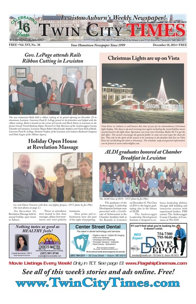 Twin City Times - Dec 18, 2014