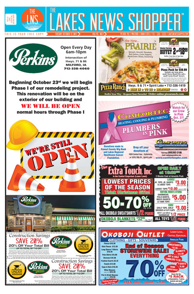 Lakes News Shopper - Oct 17, 2017