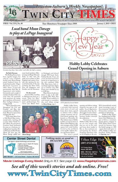 Twin City Times - Jan 1, 2015
