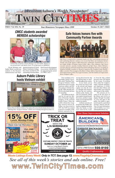 Twin City Times - Oct 19, 2017