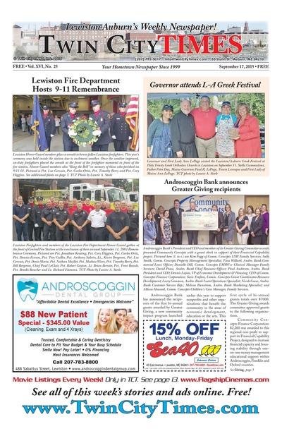 Twin City Times - Sep 17, 2015