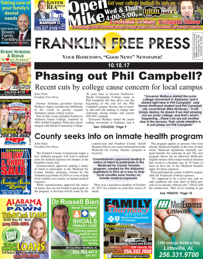 Franklin Free Press - Oct 18, 2017