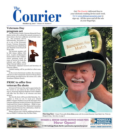 Delmarva Courier - Oct 25, 2017