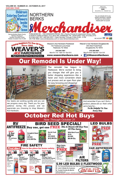 Northern Berks Merchandiser - Oct 25, 2017