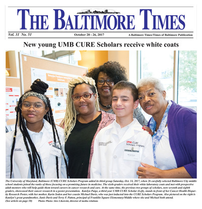 Baltimore Times - Oct 20, 2017