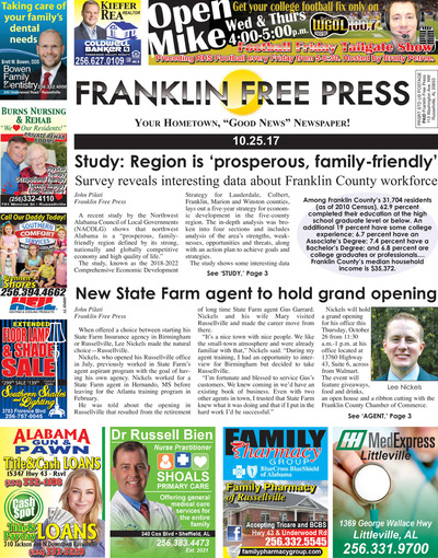 Franklin Free Press - Oct 25, 2017