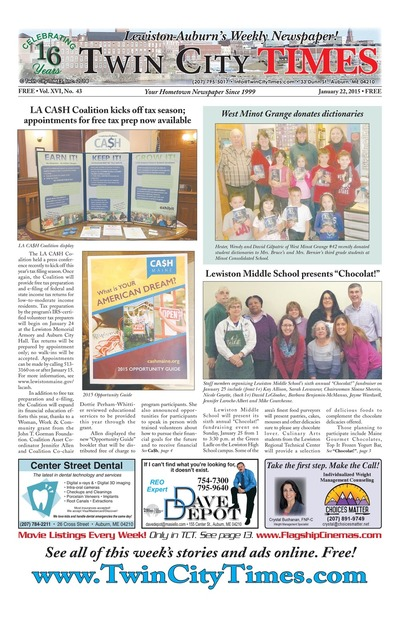 Twin City Times - Jan 22, 2015