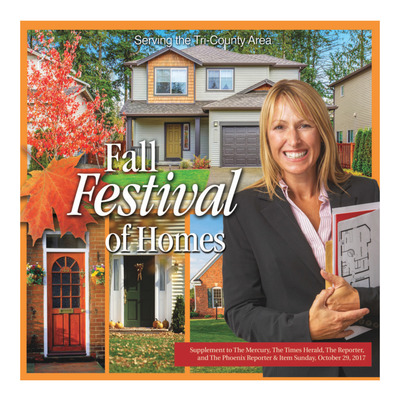 Pottstown Mercury - Special Sections - Fall Festival of Homes - Oct 27, 2017