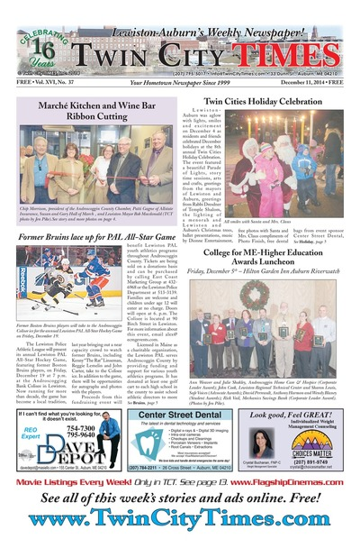 Twin City Times - Dec 11, 2014