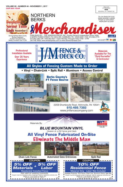 Northern Berks Merchandiser - Nov 1, 2017