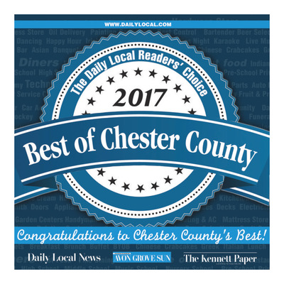 Daily Local - Special Sections - Best of Chester County 2017